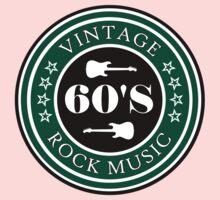 Vintage 60's Rock Music Kids Clothes