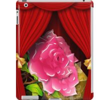 Card with roses and gift box iPad Case/Skin