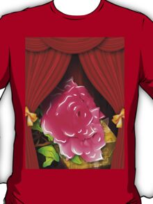 Card with roses and gift box T-Shirt