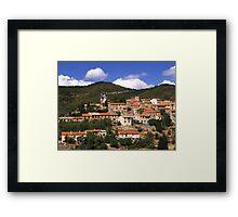 Cucugnan Framed Print