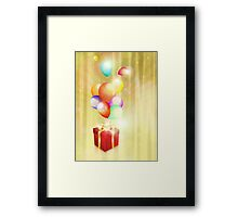 Celebration card 2 Framed Print