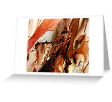 'Eucalypt Sculpture' Greeting Card