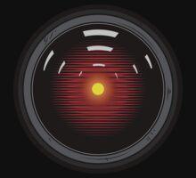 Hal 9000 by Phryan