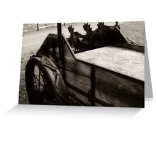 Large Lawn Ornament Greeting Card