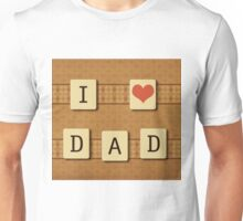 Fathers day tiles Unisex T-Shirt