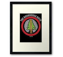 The Bookhouse Boys - Twin Peaks Framed Print