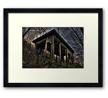 Gimmie Shelter Framed Print