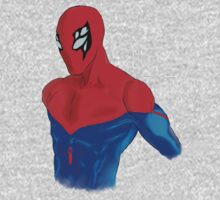 Spider-Man Alternative Suit Design Bust Kids Clothes