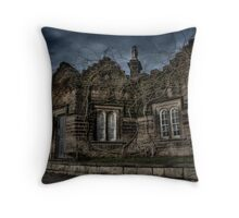 The Gate House Throw Pillow