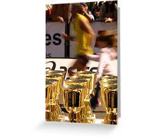 Marathon Effort Greeting Card