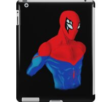 Spider-Man Alternative Suit Design Bust (Black) iPad Case/Skin