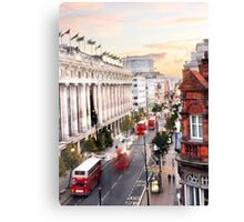 Oxford Street Early Morning Canvas Print
