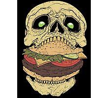 Skullburger Photographic Print