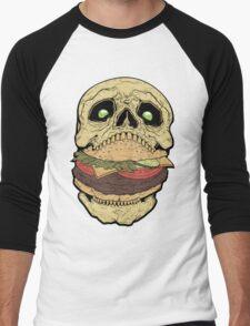 Skullburger Men's Baseball ¾ T-Shirt