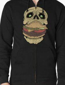 Skullburger Zipped Hoodie