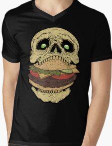 Skullburger Mens V-Neck T-Shirt