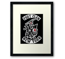 Sons of the Foot Clan Framed Print