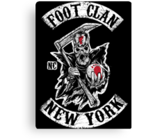 Sons of the Foot Clan Canvas Print