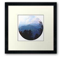 Mountain Silence Framed Print
