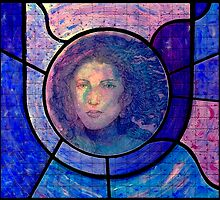 Stained Glass Mixed Media by Danielle J. Scott (Smith)