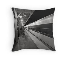 Hazlet Station Throw Pillow