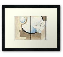 Sketchbook Jak, 54-55 Framed Print