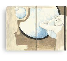 Sketchbook Jak, 54-55 Canvas Print
