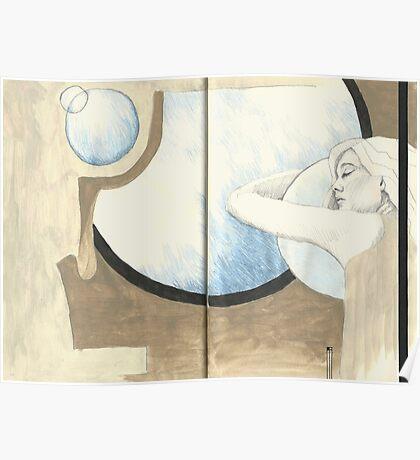 Sketchbook Jak, 54-55 Poster