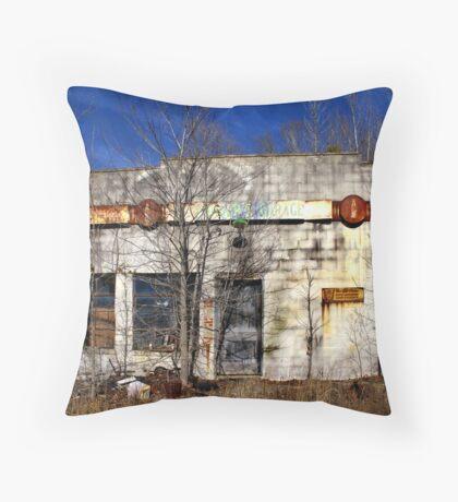 The Garage Throw Pillow