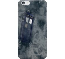 Tardis Snow Storm iPhone Case/Skin