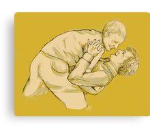 Dancing Lessons Canvas Print