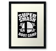 Super Smash Boot Camp Framed Print