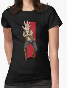 Hand Solo! Handt Rebel Fighter Womens Fitted T-Shirt