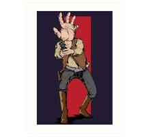 Hand Solo! Handt Rebel Fighter Art Print