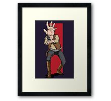 Hand Solo! Handt Rebel Fighter Framed Print