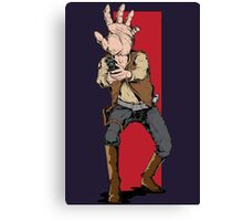 Hand Solo! Handt Rebel Fighter Canvas Print