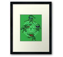Ninja Waker Framed Print
