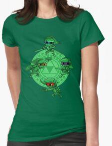 Ninja Waker Womens Fitted T-Shirt