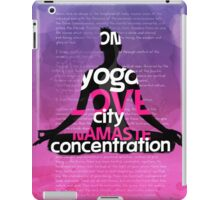 Hollywood YOGA BOOK iPad Case/Skin