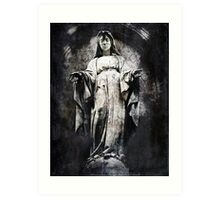 And Always You Stay, Mary Art Print