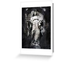 And Always You Stay, Mary Greeting Card