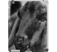 Young Goat BW iPad Case/Skin