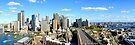 City Looking South Panorama by DavidIori