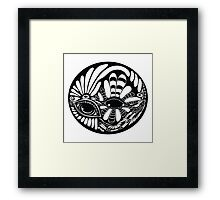 Dual perception  Framed Print
