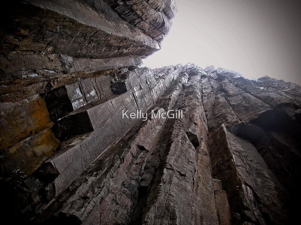 Tasman Sea Cliffs by Kelly McGill