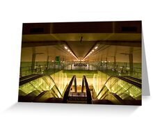 Escalators and Travelators Greeting Card
