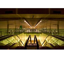 Escalators and Travelators Photographic Print