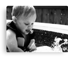 Discovering Water Canvas Print