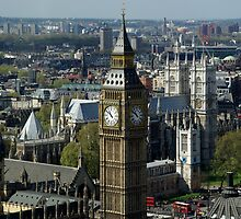 Big Ben in London by fuxart