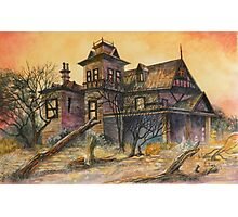 Haunted House 2 Photographic Print